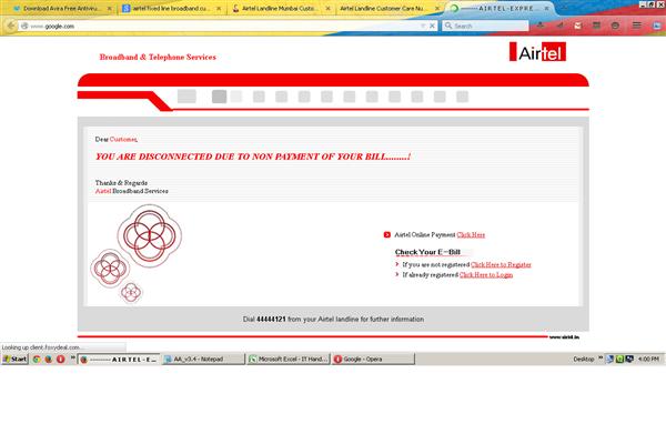 Airtel Landline Mumbai Phone Number Customer Care Service