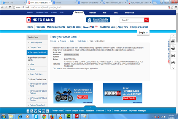 HDFC Bank Credit Card Gurgaon Phone Number Customer Care Service