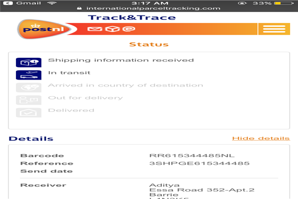 PostNL Customer Service Phone Number | Contact Number
