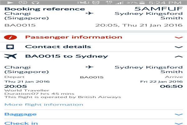 Qantas Singapore Phone Number Customer Care Service