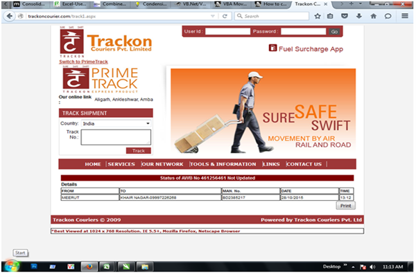 Trackon Courier Delhi Phone Number Customer Care Service